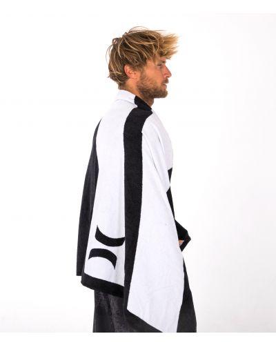 U ICON SLASH BLACK TOWEL|BLACK|1SIZE