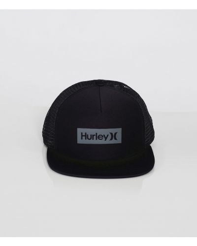 ONE & ONLY SQUARE TRUCKER HAT - MEN|BLACK|1SIZE