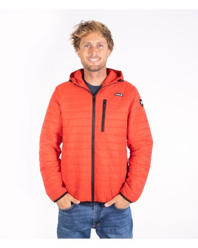 BALSAM QUILTED PACKABLE JACKET - MEN|UNIVERSITY RED|M
