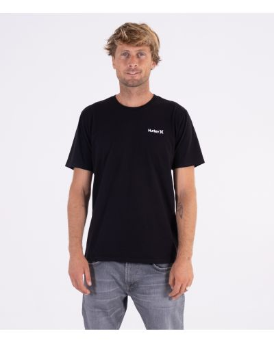 EVERYDAY WASHED SMALL ONE & ONLY SOLID TEE - MEN|BLACK|S
