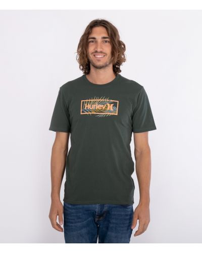 EVERYDAY WASHED FAST PALMS S/S - MEN|GALACTIC JADE|S