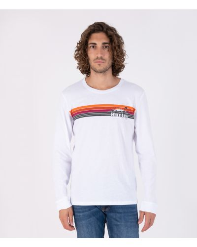 EVERYDAY WASHED TRADEWINDS L/S - MEN|WHITE|L