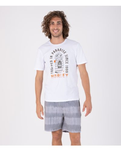 EVERYDAY WASHED TRAPPED IN S/S - MEN|WHITE|S