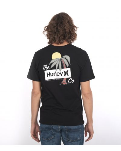 EVERYDAY WASHED WELCOME TO PARADISE S/S - MEN|BLACK|M