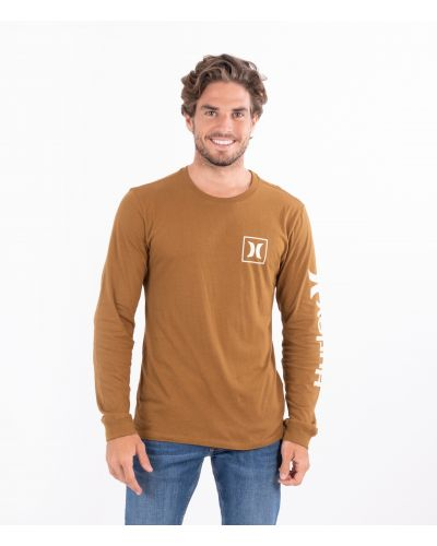 EVERYDAY WASHED ONE & ONLY ICON LS - MEN|ALE BROWN|L