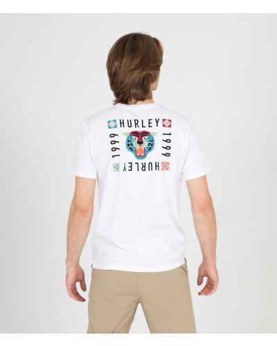 EVERYDAY WASHED BENGAL S/S TEE - MEN|WHITE|L