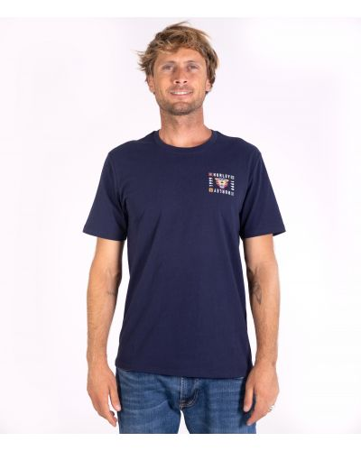 EVERYDAY WASHED BENGAL S/S TEE - MEN|OBSIDIAN|L