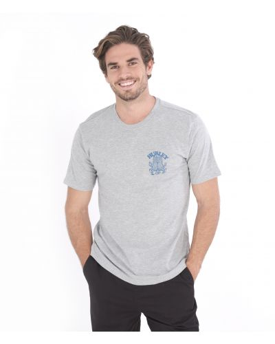 EVERYDAY WASHED FIRENDS OF PARADISE S/S - MEN|GREY|L