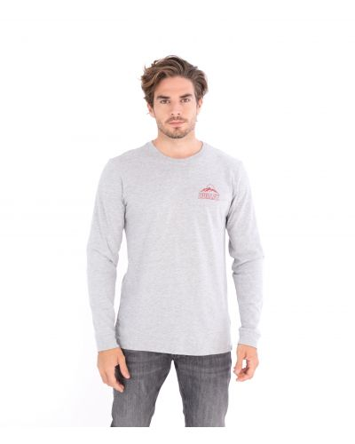 EVERYDAY WASHED EVEREST L/S TEE - MEN GREY XXL