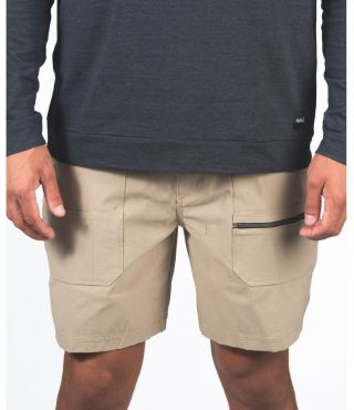 CARHARTT WORK SHORT SOLID 19' - MEN|DARK KHAKI|33