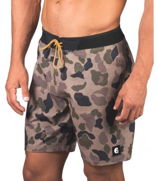 PHANTOM HYPERWEAVE CARHARTT BOARDSHORT - MEN|CARGO KHAKI|34
