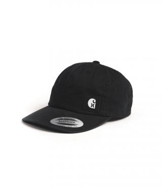 CARHARTT LABEL HAT - MEN|BLACK|1SIZE
