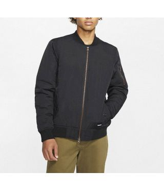 BOMBER JACKET - MEN|BLACK|L