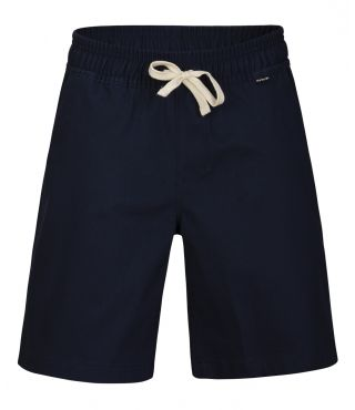 B O&O STRETCH CHINO SHORT|OBSIDIAN|L