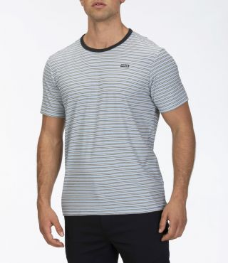M FEEDER STRIPE S/S|LT ARMORY BLUE|XL