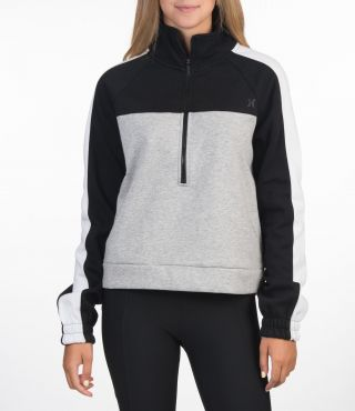 THERMA FLEECE HALF ZIP - WOMEN|BLACK|XS