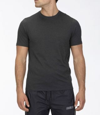M QUICK DRY PERFORMANCE MESH S/S|DARK GREY HTR|XXL