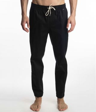 M O&O STRETCH JOGGER|BLACK|L