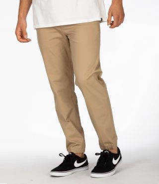 ONE & ONLY STRETCH JOGGER - MEN |KHAKI|S