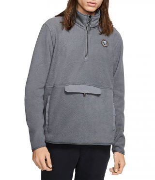 M PENDLETON SHERPA TRACK FLEECE|DARK GREY|XXL