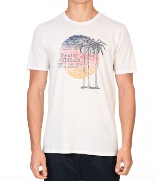 REC TRES PALMS S/S - MEN|WHITE|M