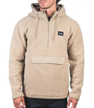ANORAK SHERPA FLEECE - MEN|KHAKI|XL