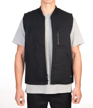 WORK TRUCKER VEST - MEN|BLACK|S