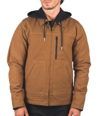 WORK TRUCKER JACKET - MEN|LT BRITISH TAN|XXL