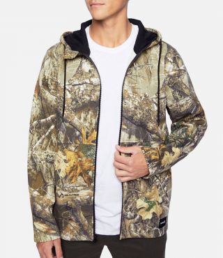 REAL TREE FULL ZIP - MEN|EDGE CAMO|XL
