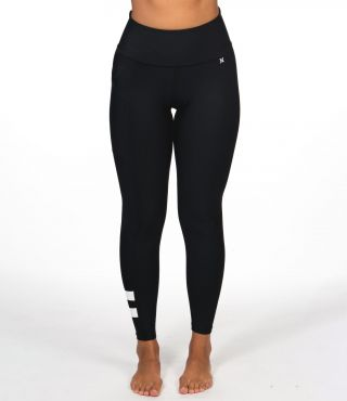 BLOCK PARTY HYBRID LEGGING - WOMEN|BLACK|XS