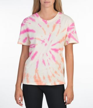 TIE DYE GF CREW TEE - WOMEN|MULTI COLOR|XS