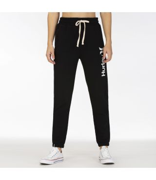 ONE & ONLY FLEECE JOGGER - WOMEN|BLACK|XS