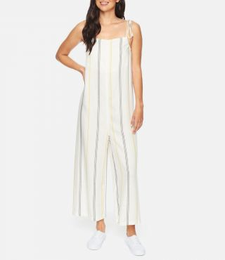W SUNDAY JUMPSUIT|WHITE|M