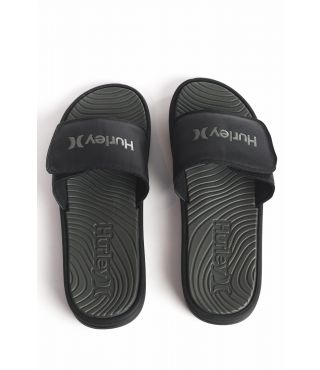 ONE & ONLY VELCRO SLIDE - MEN|BLACK|9
