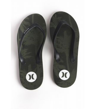 ICON PALMS FLIP FLOP - MEN|VINTAGE GREEN|8