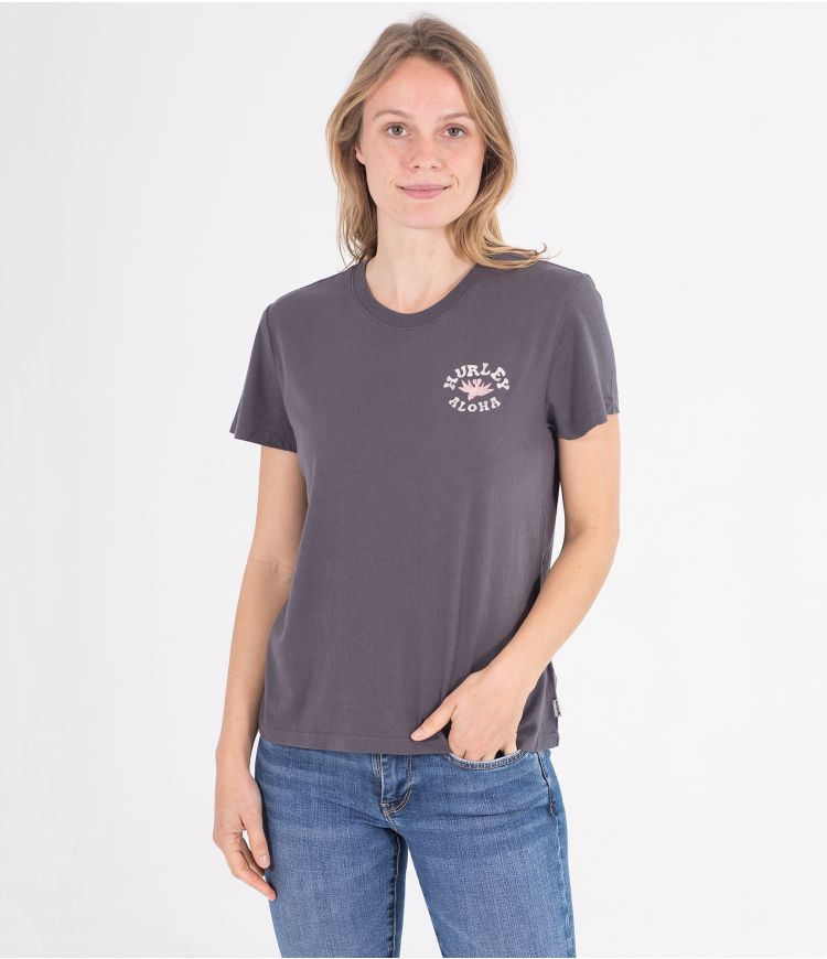 WAILER WASHED FLEECE CREW - WOMEN|GREY|L