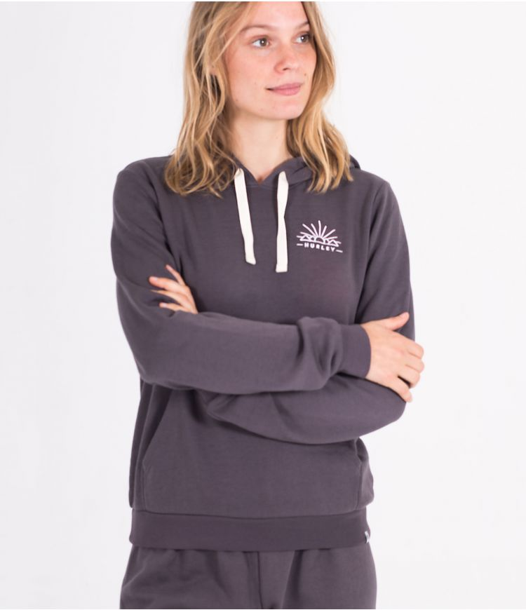 PISMO BURNOUT PERF PULLOVER - WOMEN|GREY|L