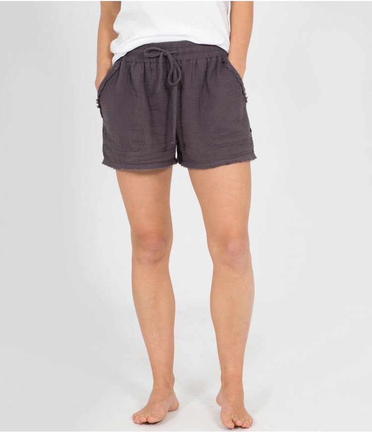 NATURAL SHORT - WOMEN|GREY|L