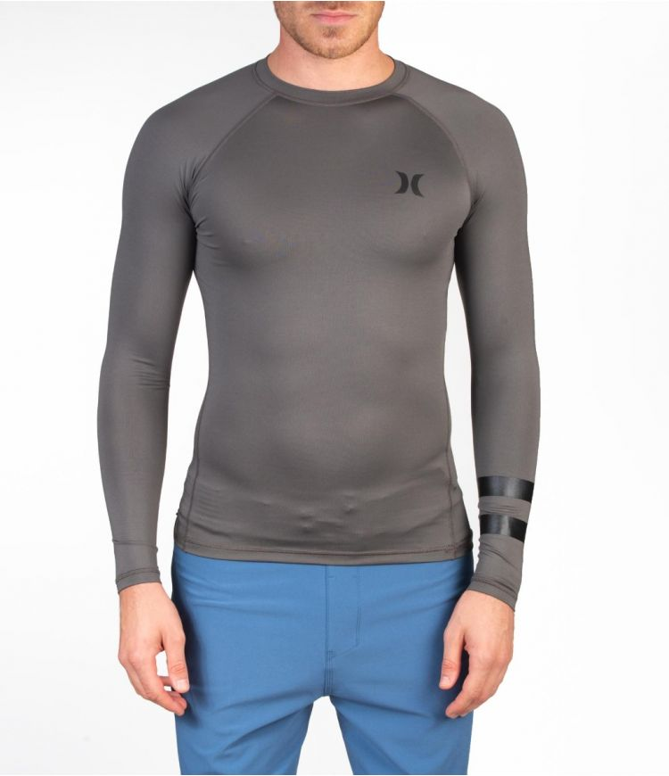 PRO LIGHT TOP L/S - MEN|IRON GREY|XL