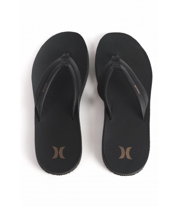 LUNAR LEATHER SANDAL - MEN |BLACK|13