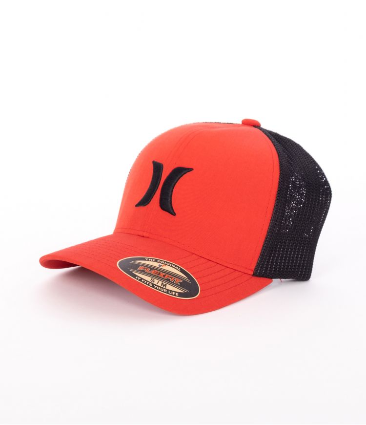 HURLEY ICON TEXTURES HAT - MEN|GYM RED|S/M