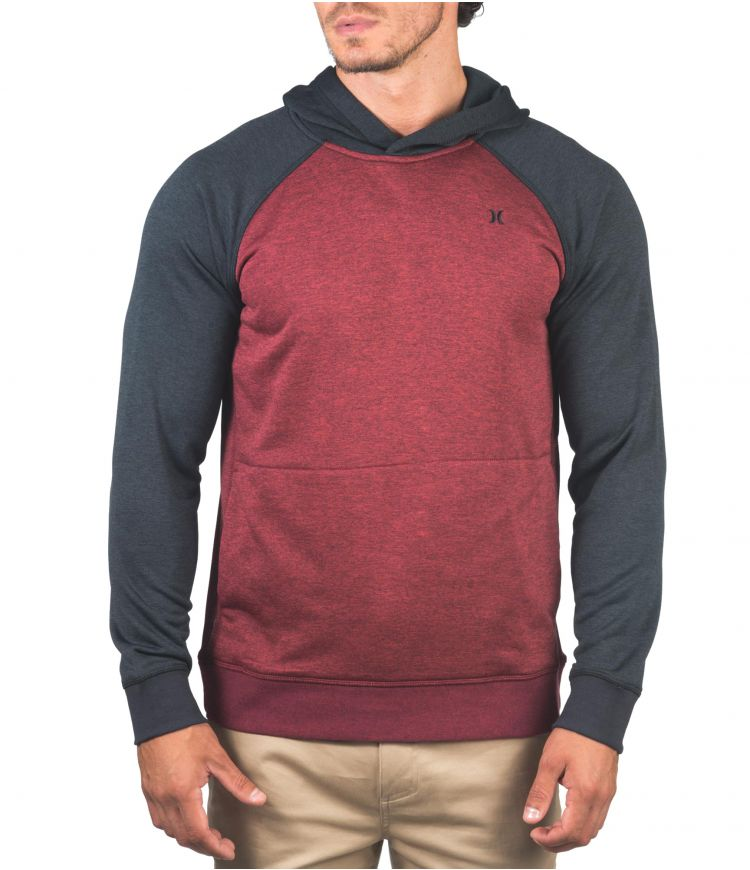 DRI-FIT DISPERSE PULLOVER - MEN|GYM RED|XL