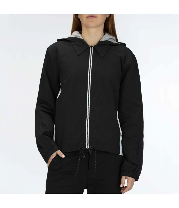 ONE & ONLY HOODED JACKET - WOMEN |BLACK|XS
