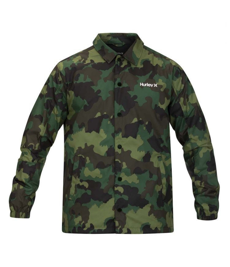 SIEGE COACHES JACKET - MEN |GREEN NOISE|L