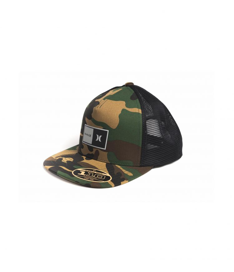 NATURAL 2.0 TRUCKER HAT - MEN |CAMO GREEN|1SIZE