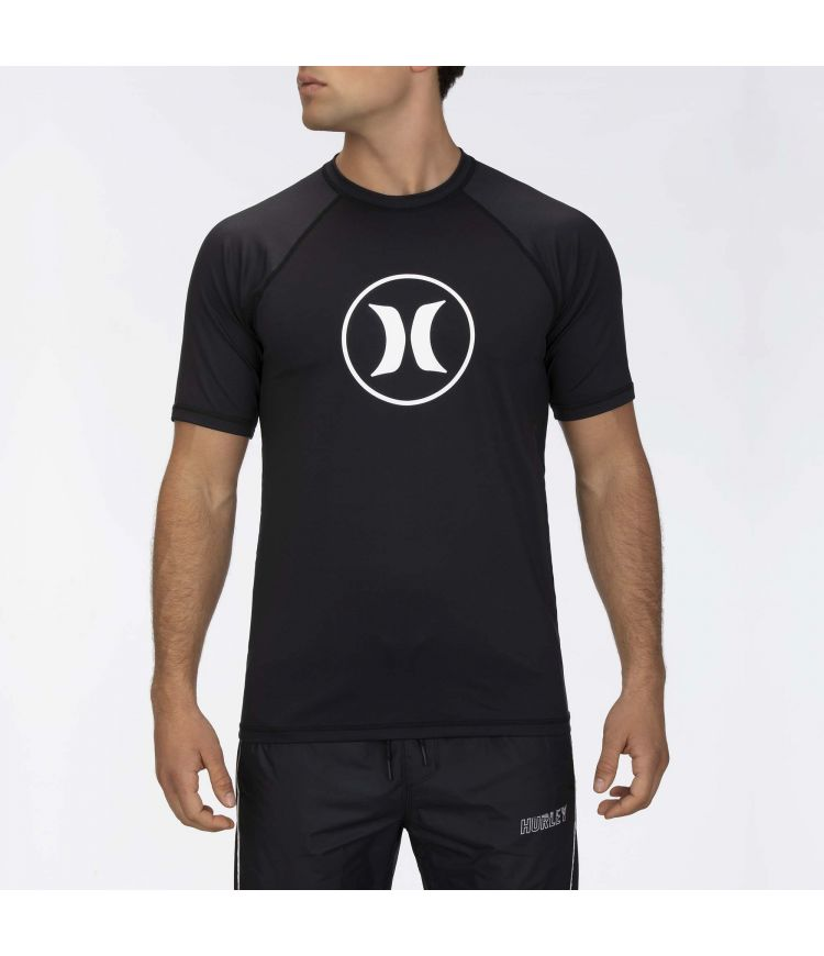 ICON RAGLAN SURF SHIRT S/S - MEN|BLACK|M