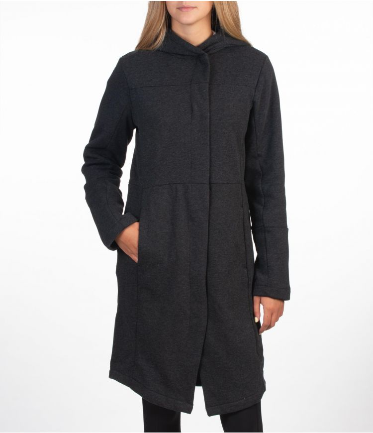 THERMA WINCHESTER TRENCH - WOMEN|BLACK HTR|XS