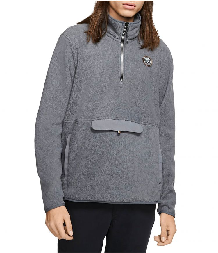 PENDLETON SHERPA TRACK FLEECE - MEN |DARK GREY|XL