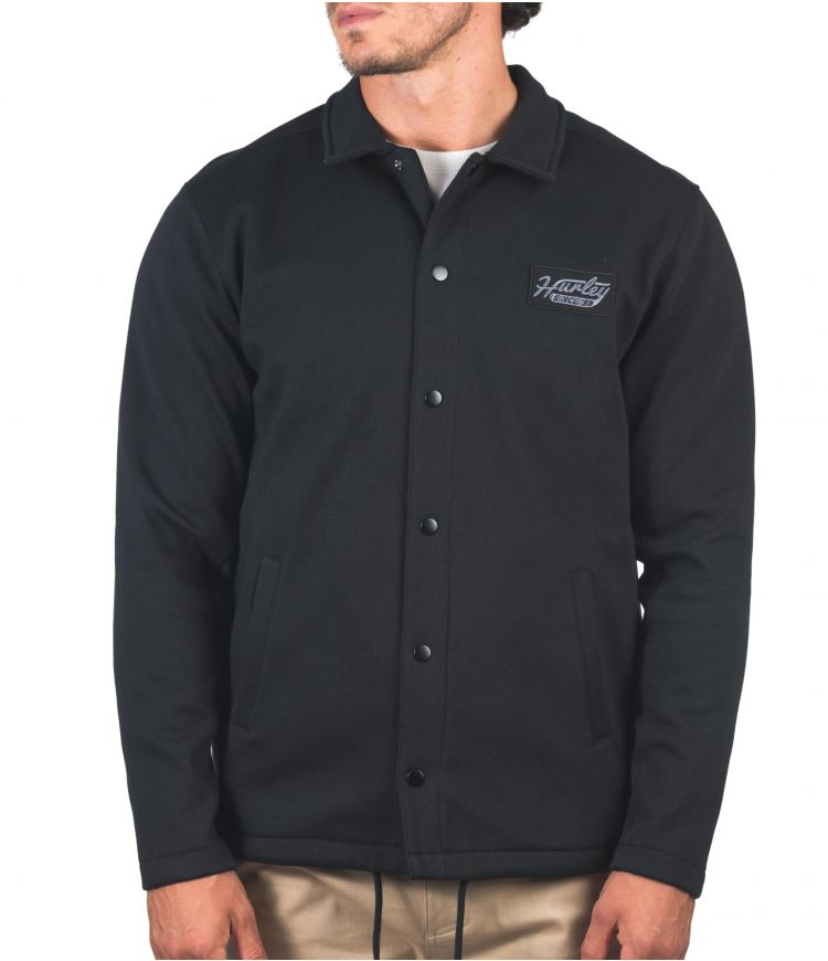 THERMA PROTECT COACHES JACKET - MEN|BLACK|S