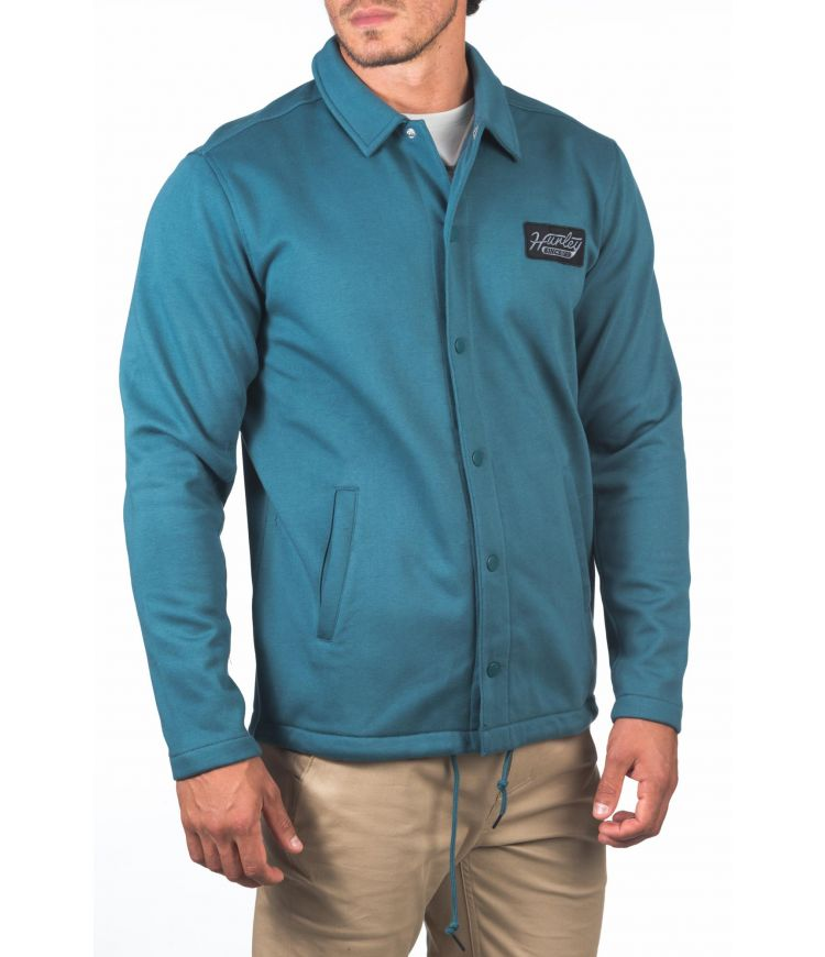 THERMA PROTECT COACHES JACKET - MEN|ASH GREEN|XXL